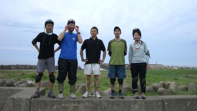 OBS-JALT2006-7日目:自転車で400キロを走破終了!
