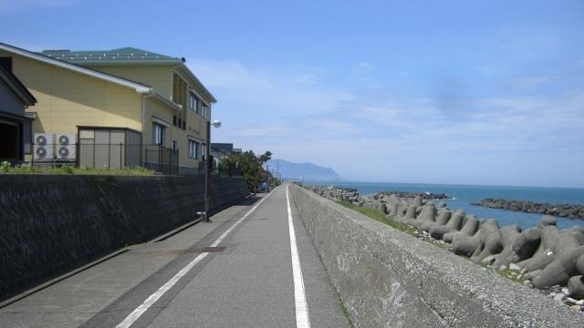OBS-JALT2006-9日目:糸魚川まで20キロのソロ(単独)ウォーキング