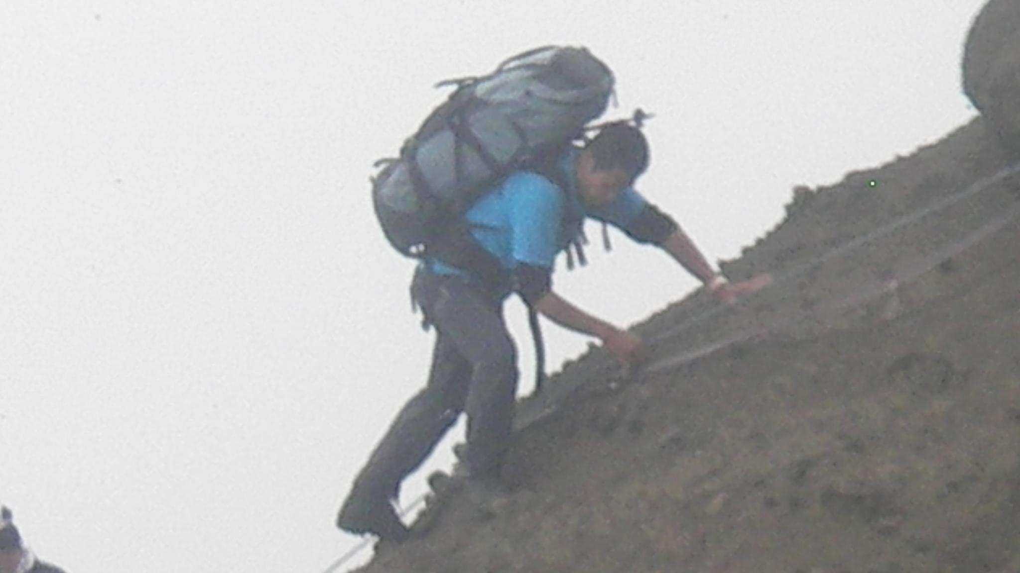 OBS-JALT2006-54日目:鋸岳、鬼ケ面山の狭い尾根を縦走