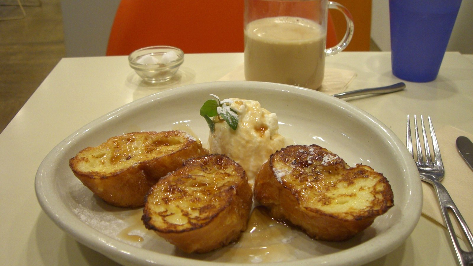 仕事のリフレッシュに吉祥寺のカフェで美味フレンチトースト