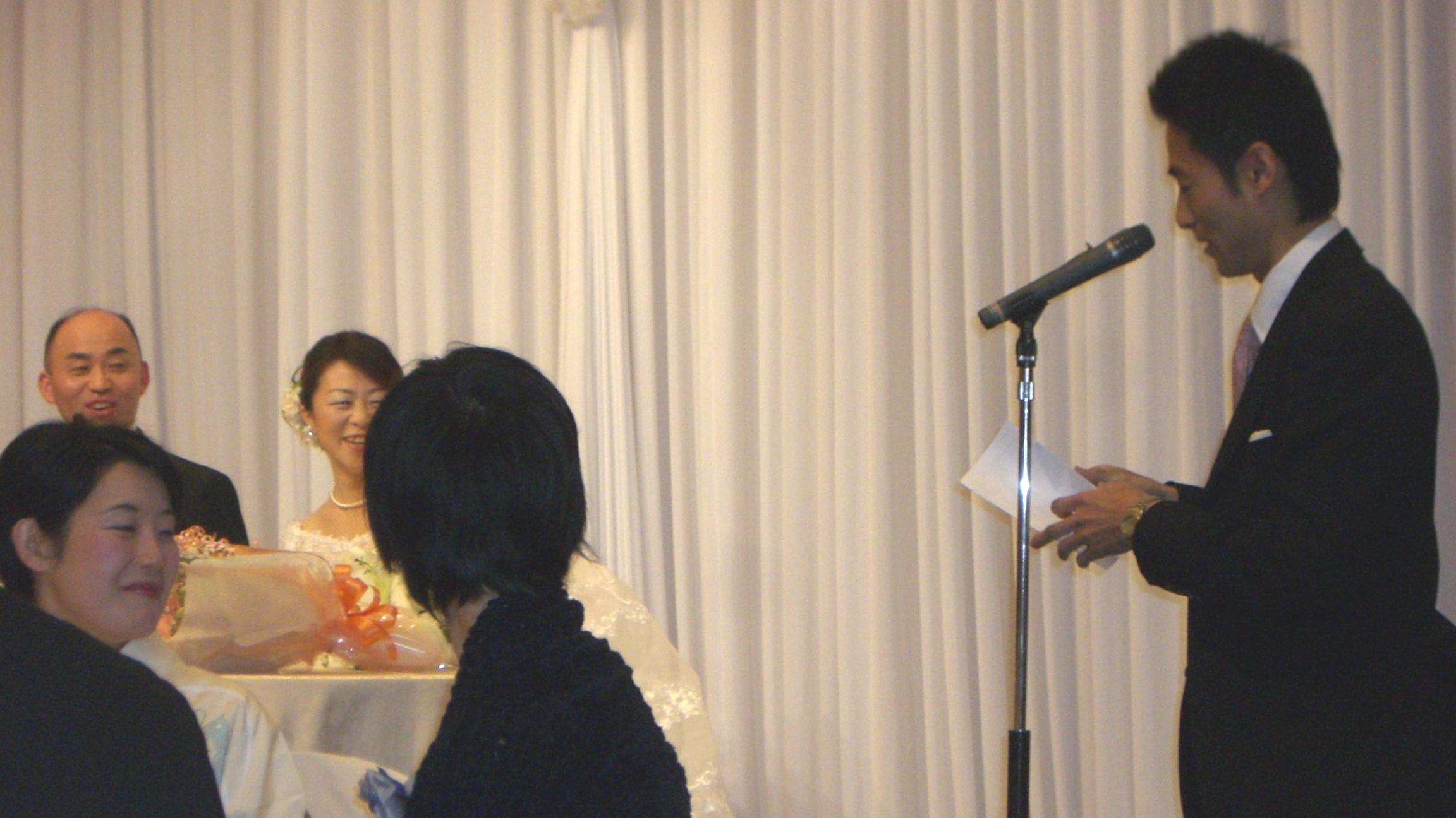 女性クライアントさんがベストパートナーと出会い、、結婚式に感動!