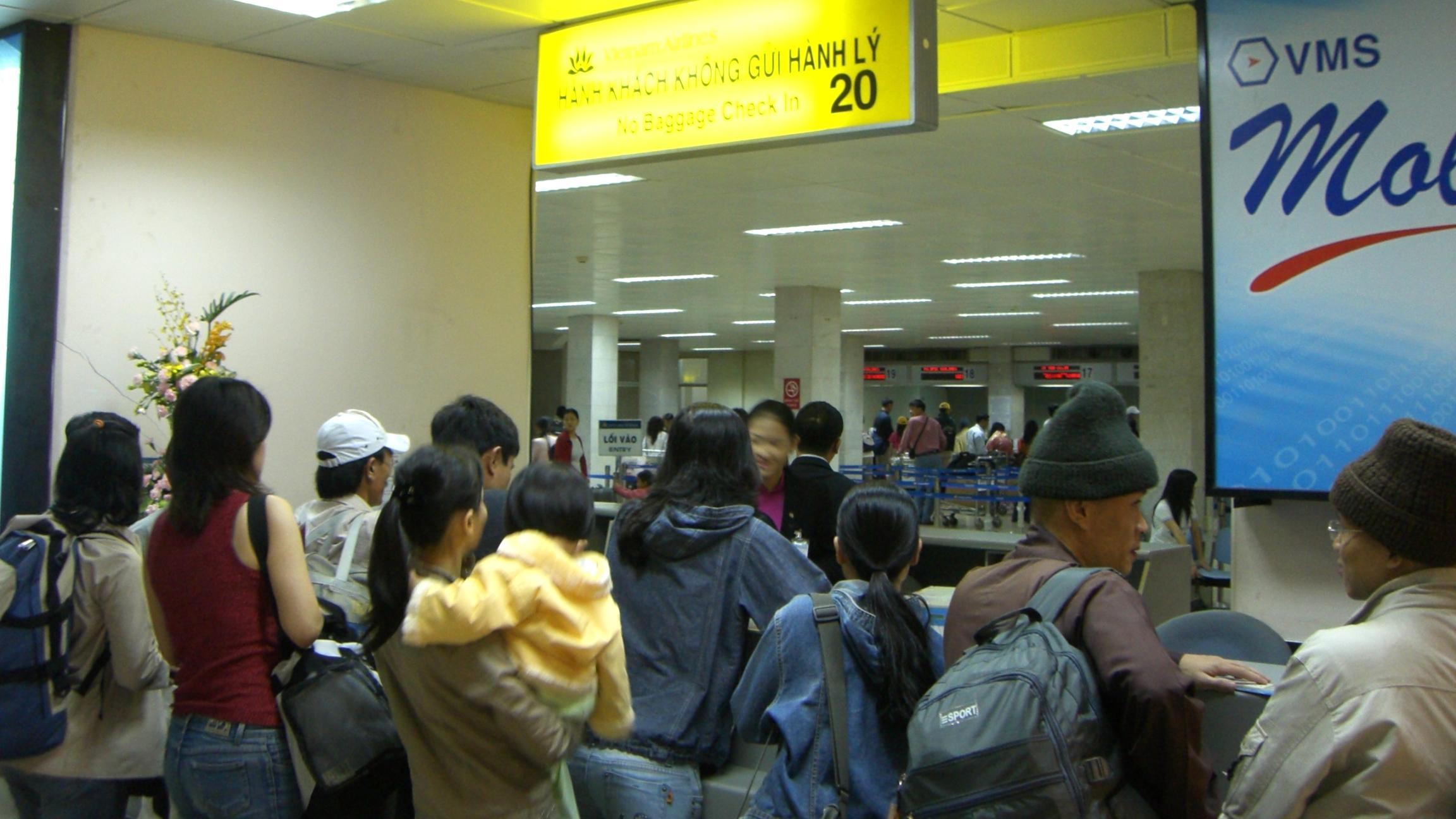 ベトナムに着いて航空券を忘れたことに気付き、大ピンチ!
