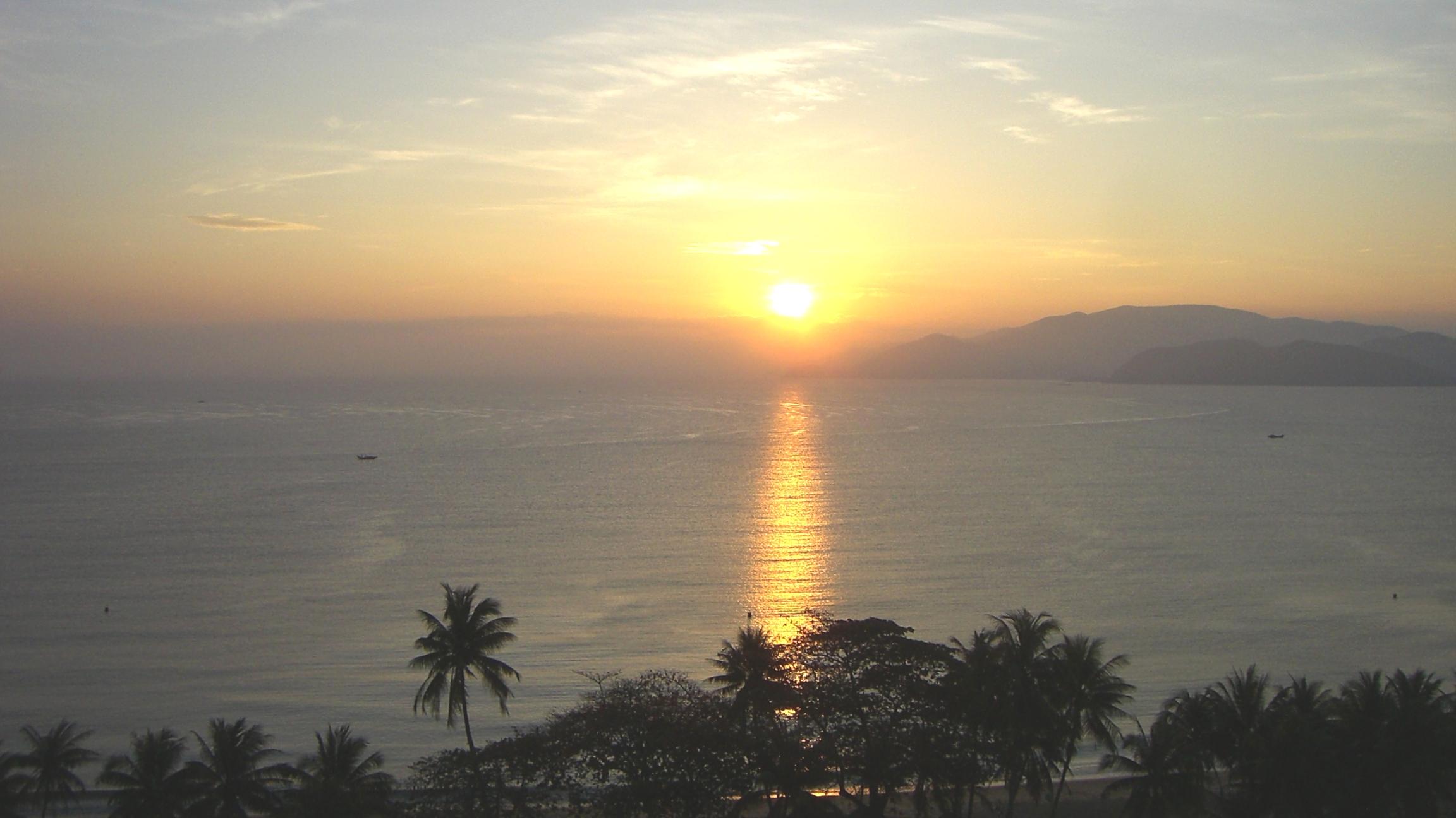 ベトナム4日目:ニャチャンの日の出と、至福のスパ4時間コース!