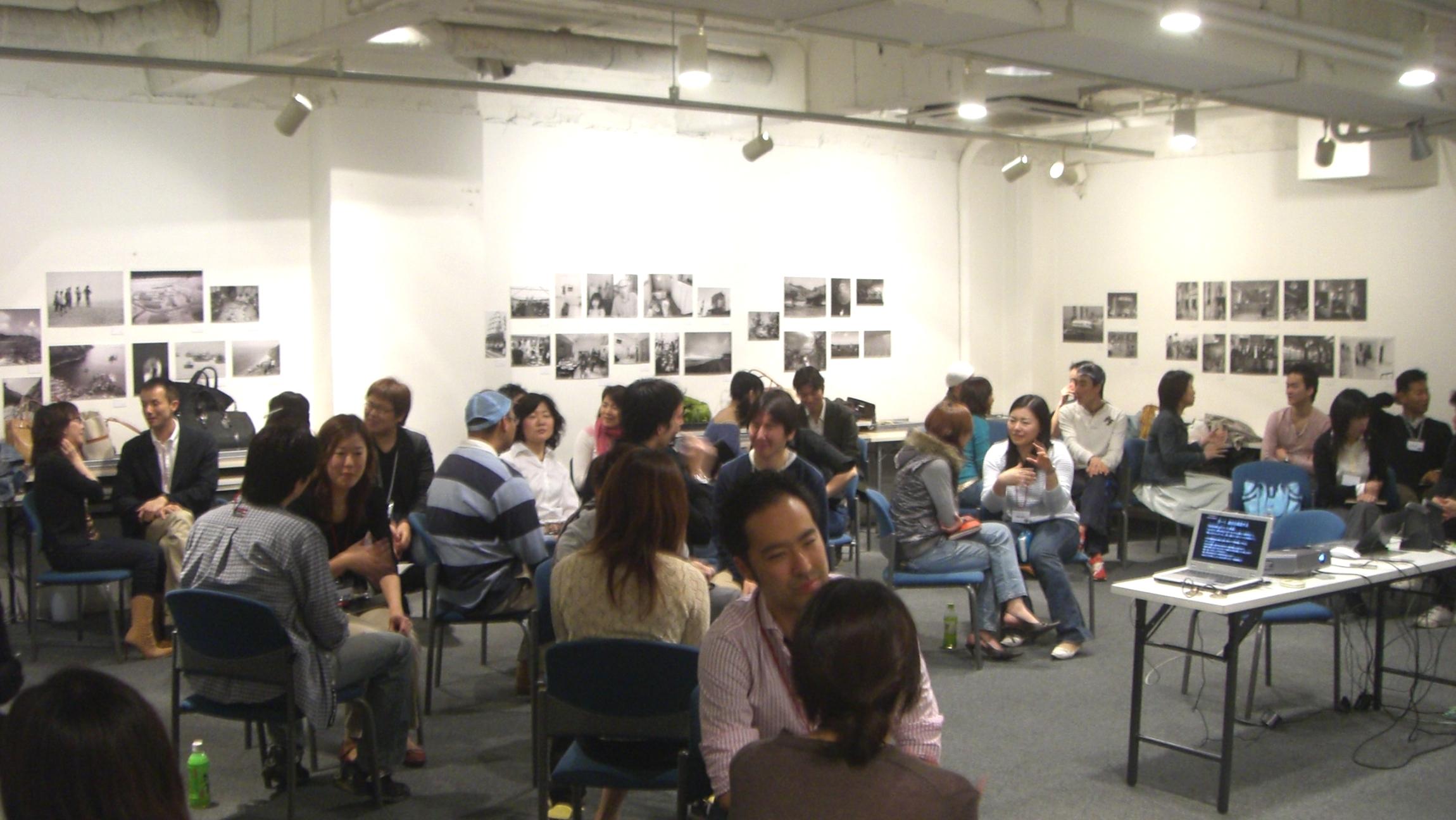 チャリティ団体パラサイヨにて、50人に向けてコーチングのワークショップを開催!