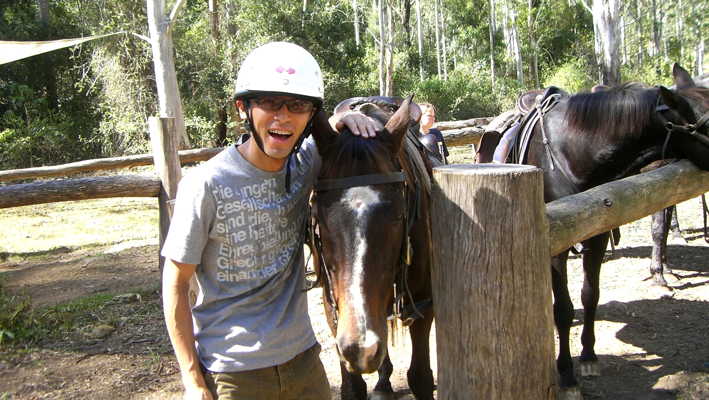 オーストラリア7日目:乗馬&野外でのブッシュ・ティータイムを初体験!