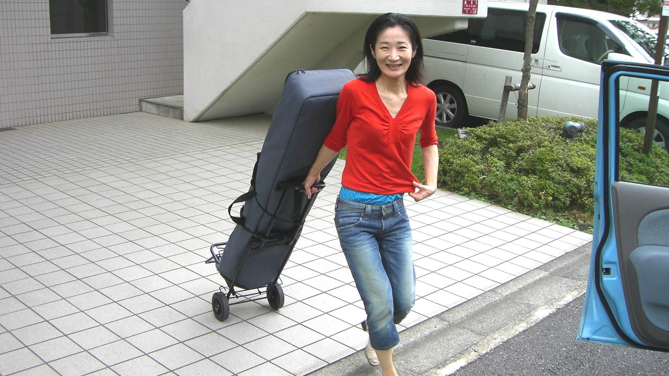CTI納涼会の本番前日。楽器の運搬と歌練習で準備!