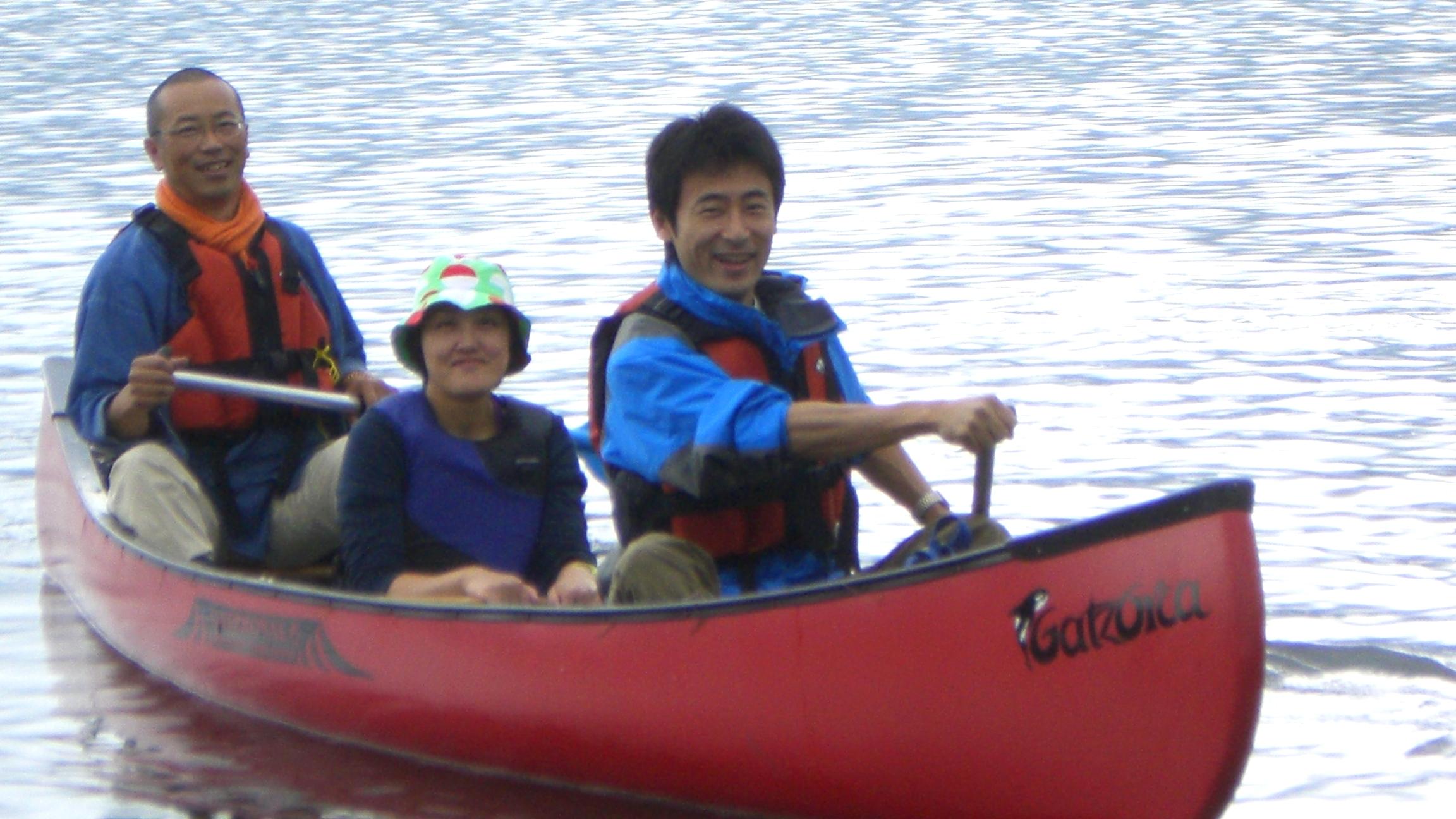 【カヌー&カヤック】山中湖にて!