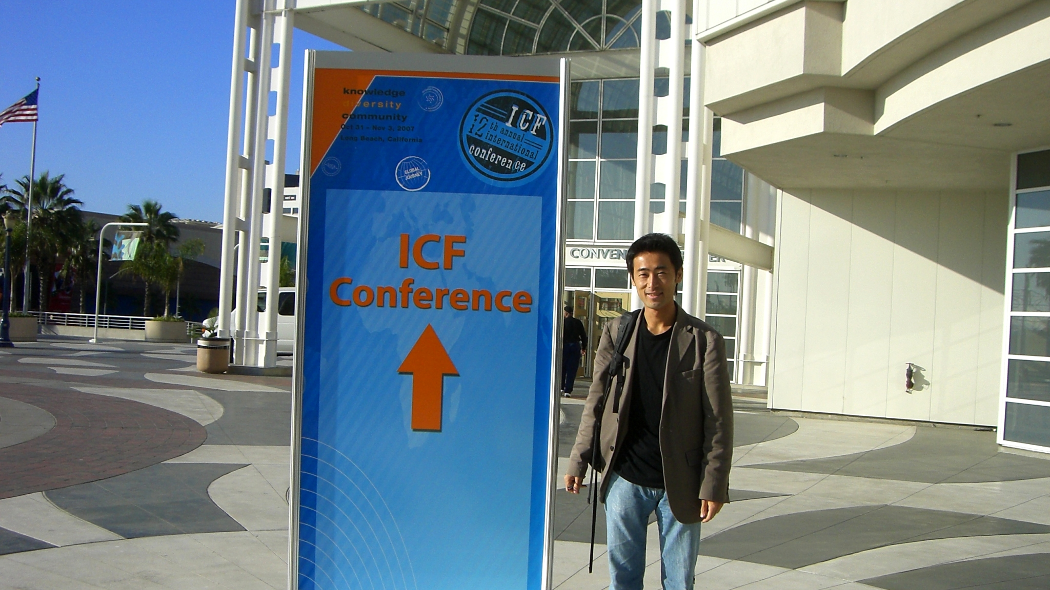 【コーチングICF国際会議】6日間の渡米。前日入りしたロスは快晴!