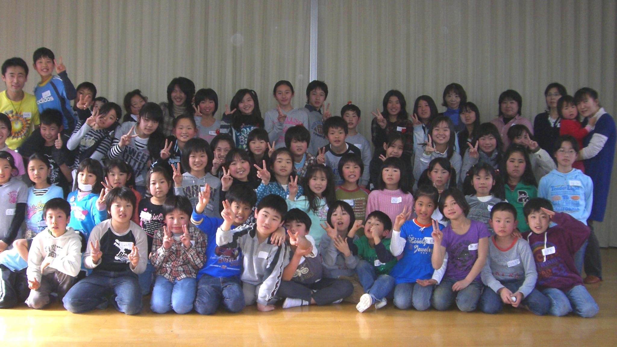 東林間にて「小学6年生を送る会」でドラムサークル開催!