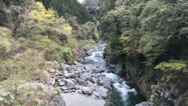 【奥多摩・鳩ノ巣渓谷】水神様の強力なパワーか、帰宅後に強烈な眠気が!