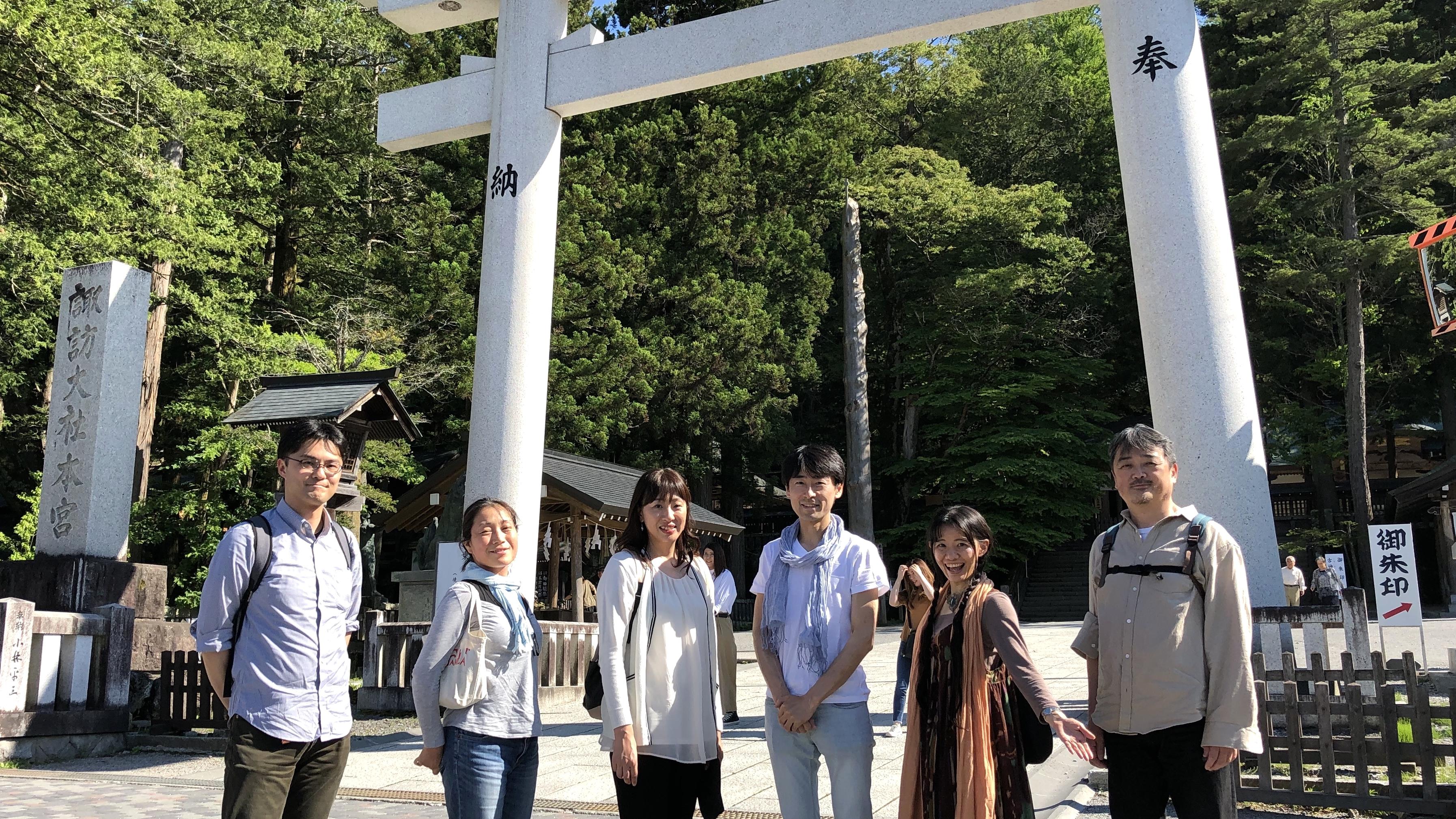 【風水1日ツアー記録&参加者の声】第10回は諏訪大社の四社巡りへ!